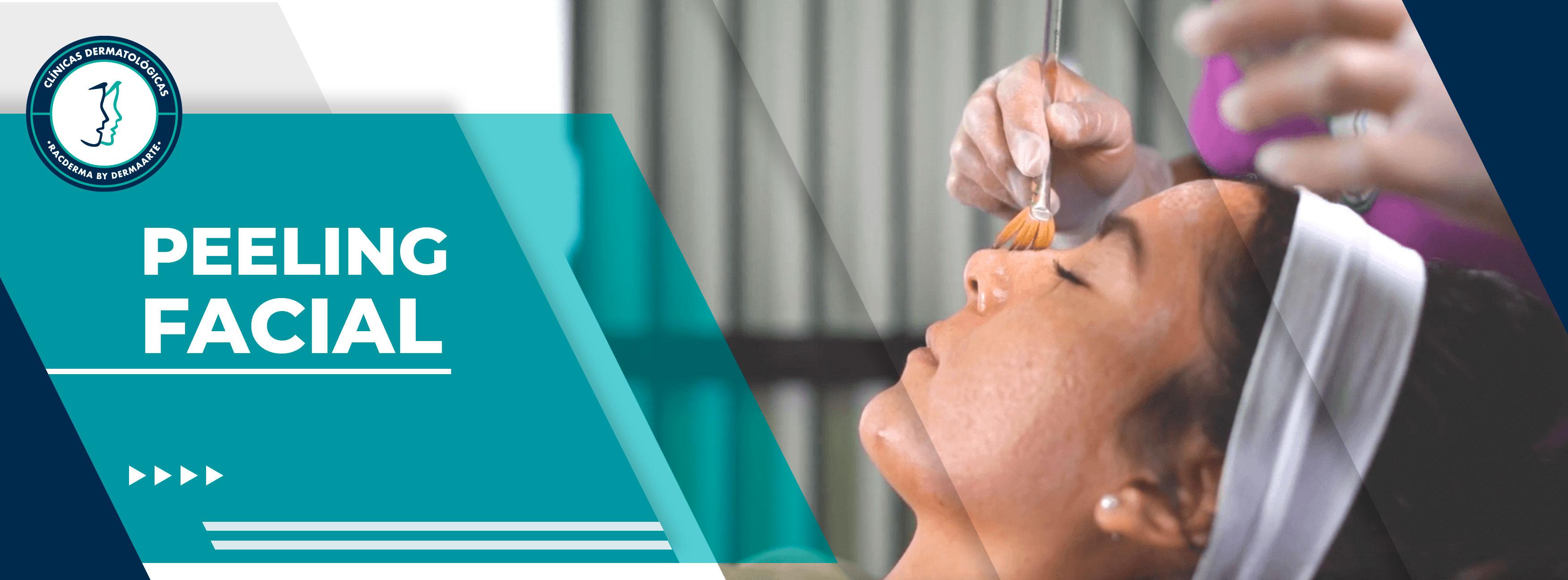 Peeling medico, peeling facial