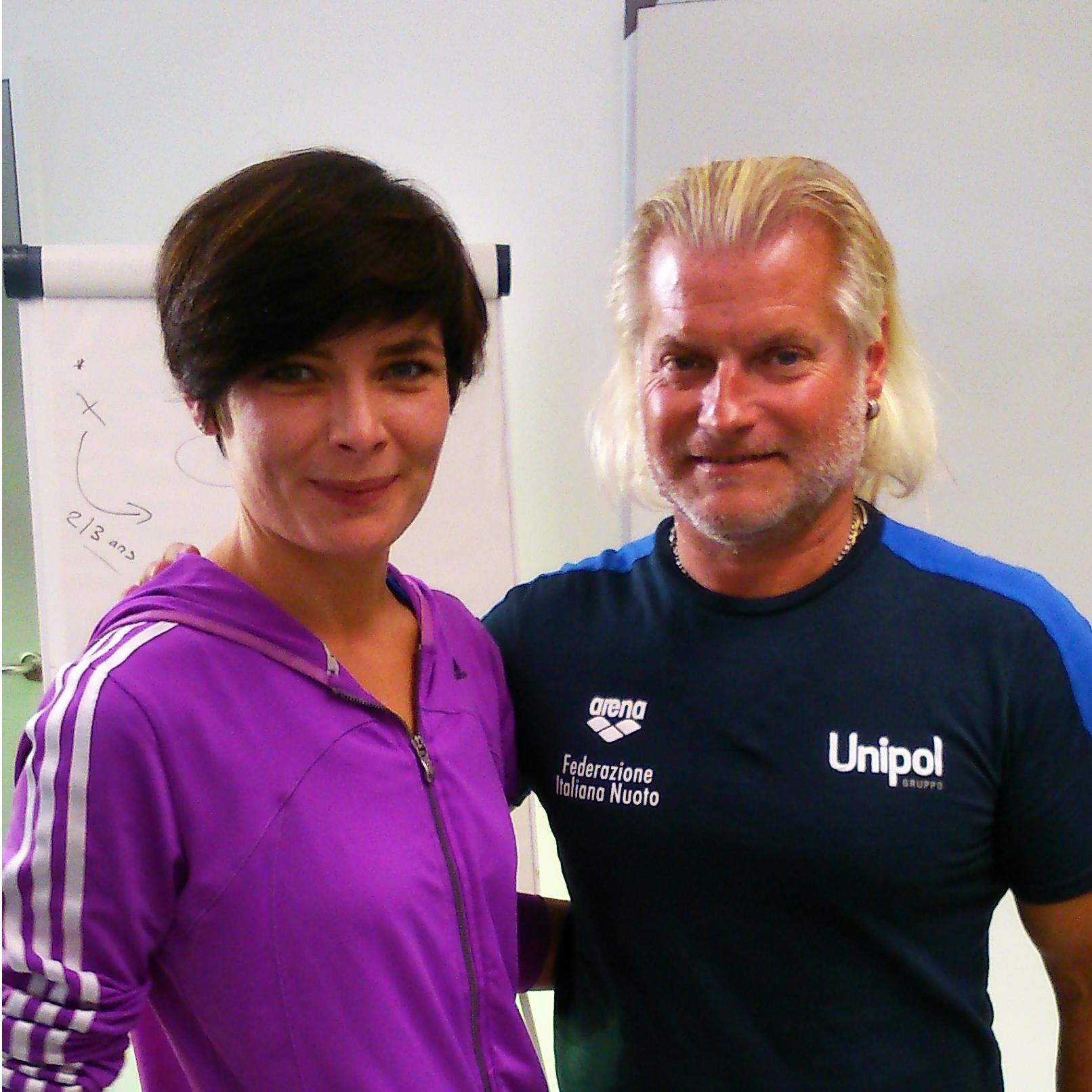 Diplôme International Préparation Physique avec Philippe LUCAS (Natation)