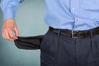 réparation  fond de poche troué