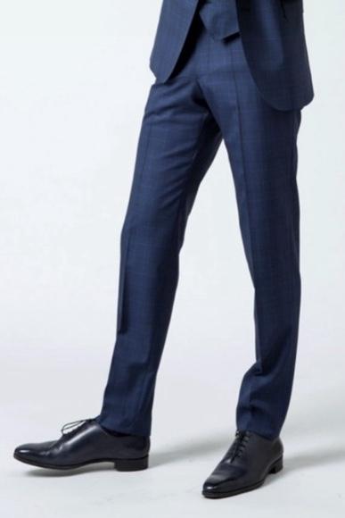 ourlet pantalon costume bonne longueur