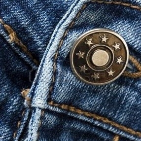 Bouton spécial jean