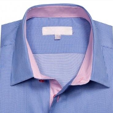 retouche sur col de chemise
