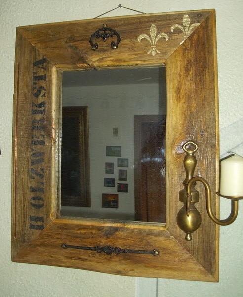 großer Scheunenspiegel