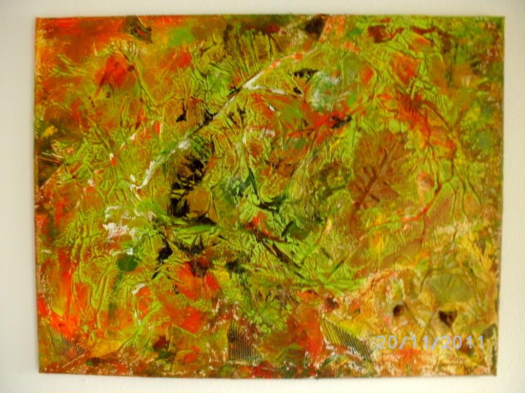 Herbstzauber ( Collage )