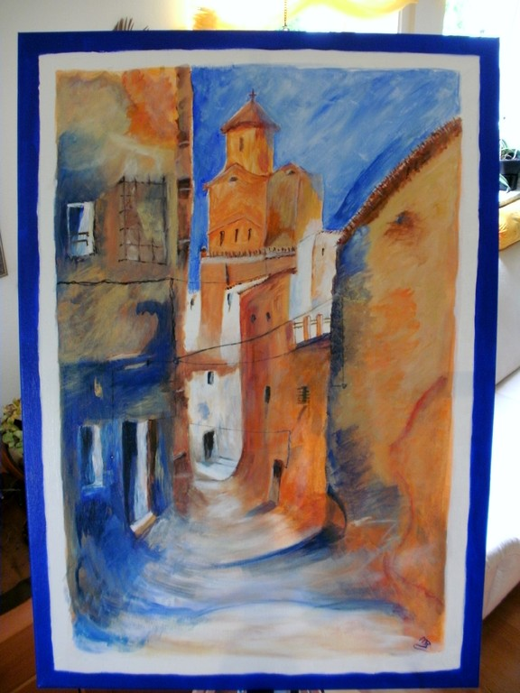 Andalusischer Traum ( Acryl )