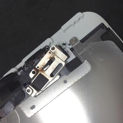 iPhone6海水没のサビ イヤスピーカー