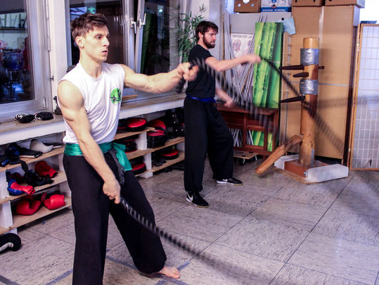 Neue Trainingsgeräte in der Jing Wu Köln