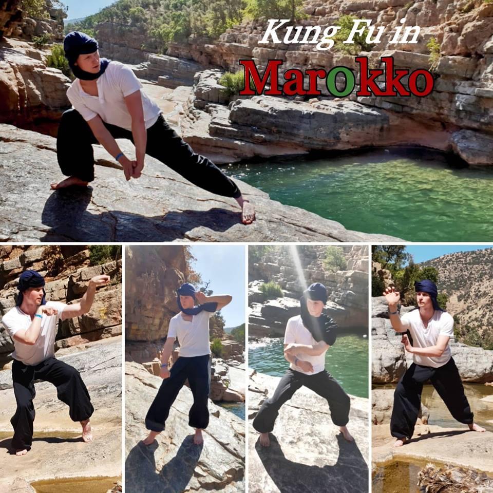 Kung Fu Training im Urlaub