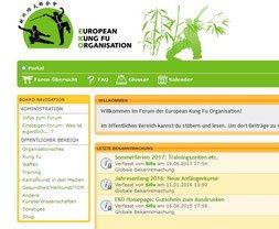 Bild Internetforum der Jing Wu Schule Köln, Forum für Mitglieder und Interessierte