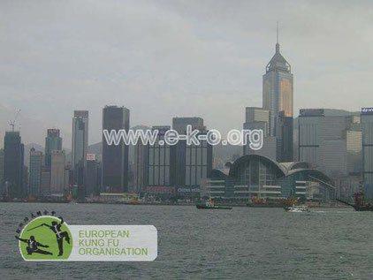 Skyline von Hong Kong: Welt der traditionellen Kampfkunst Kung Fu