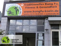 Bild Eingang der Jing Wu Schule Köln Ehrenfeld Lichtsraße 50