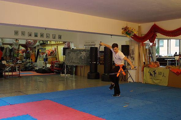 Vorführung: Doppelsäbel Form aus dem Hung Gar Kung Fu
