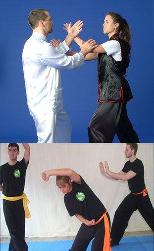 Taiji Partnerübung (Schiebende Hände; kantonesisch: Toy Sao), Atemübungen sind Bestandteil des Jing Wu Trainings