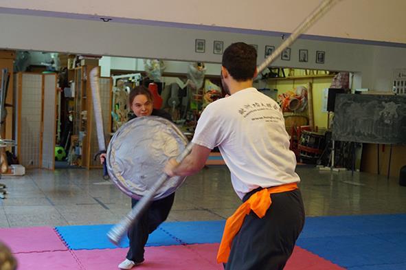 Waffenkampf beim Kung Fu Köln Cup