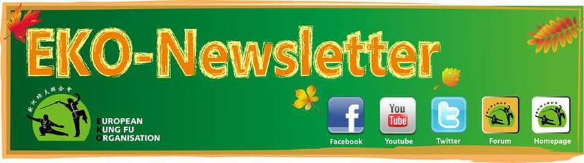 Unser Jing Wu Newsletter erscheint maximal 1x/Quartal mit Informationen zu Veranstaltungen, Terminen und sonstigen Neuigkeiten
