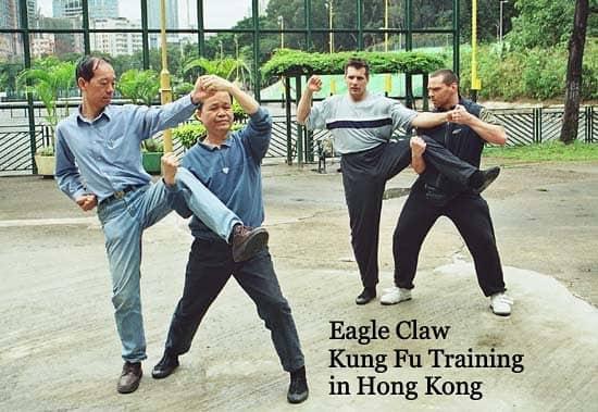 Training bei den Meistern des Adlerklauen Kung Fu in Hong Kong