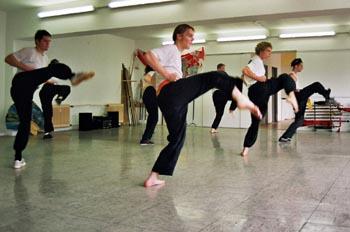 Formentraining im Kung Fu in der Jing Wu Kung Fu Schule Köln