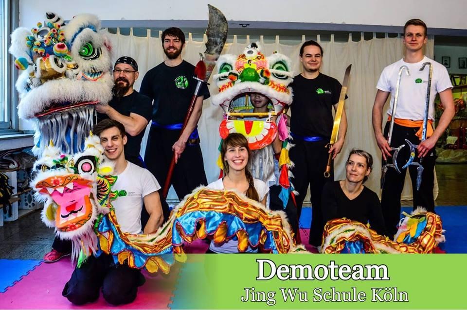 Demoteam der Jing Wu Schule