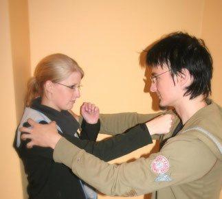Bild viele traditionelle Kung Fu Techniken eignen sich für die Selbstverteidigung für Frauen