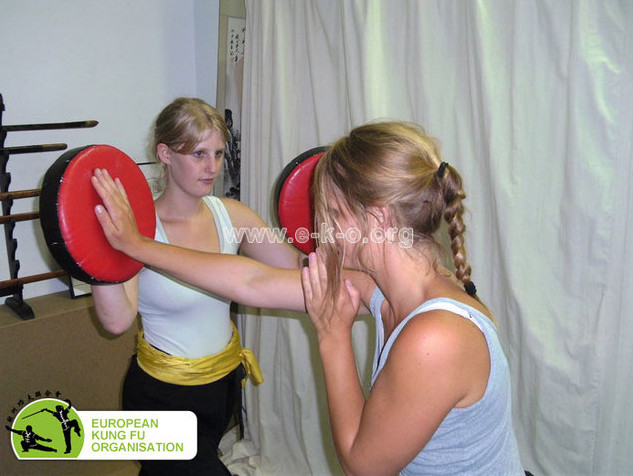 Kampfkunsttraining in der Jing Wu Köln