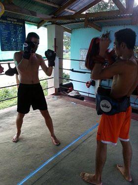 Thaibox Training