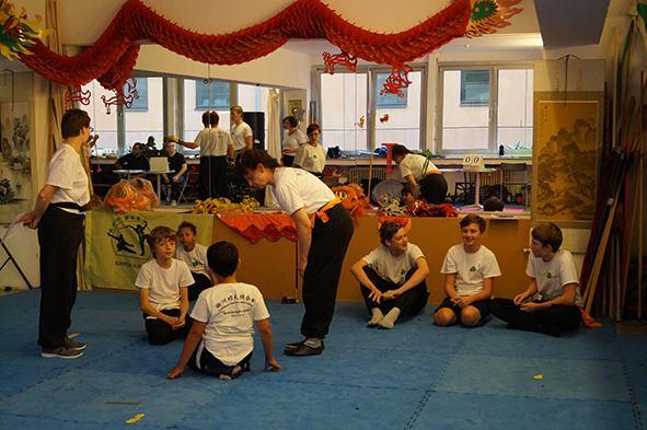 Kampf der Kinder  Bodenkampf