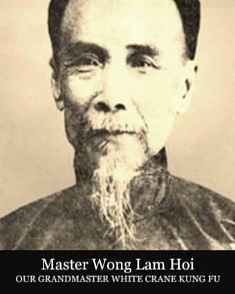 historischer Großmeister des Weißer Kranich Kung Fu