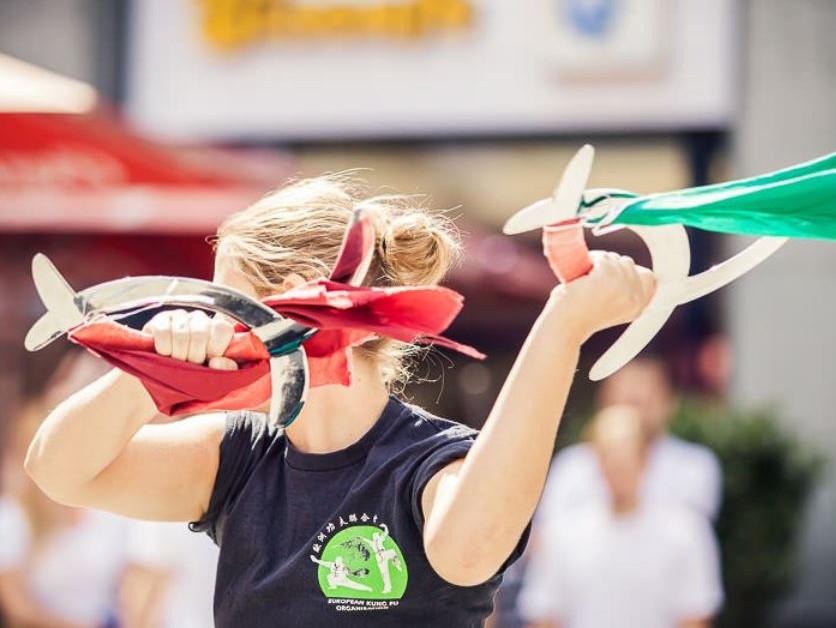 Bericht über die Waffenkünste des traditionellen Kung Fu