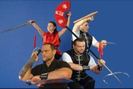 Ausschnitte aus dem Waffenprogramm der Jing Wu Kung Fu Schule