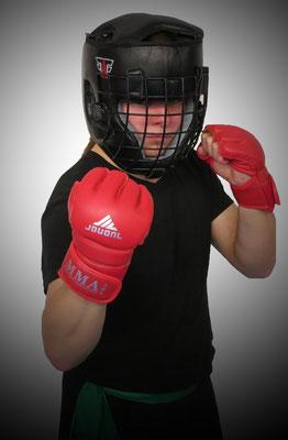 Kampfsport bringt Schutzausrüstung für Wettkämpfe mit sich