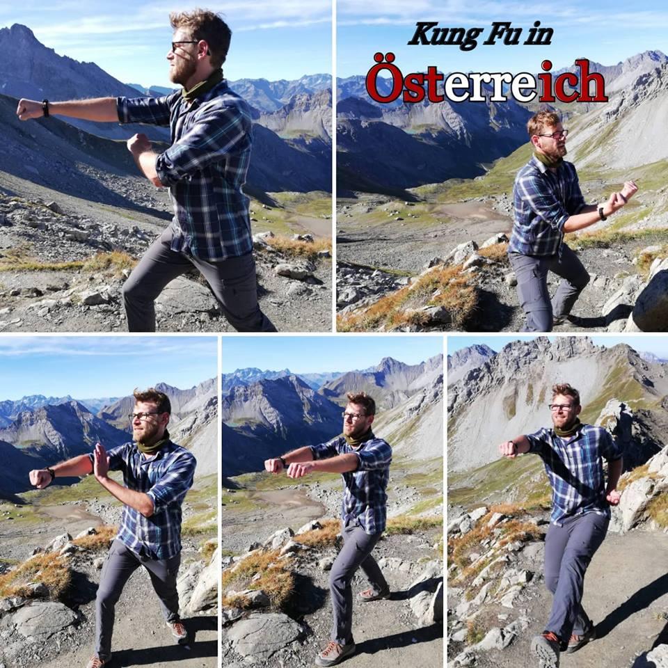 Kung Fu Urlaubstraining in Österreich