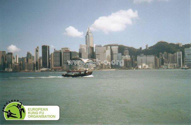 Die traditionelle Kampfkunst des Kung Fu hat sich in Hong Kong erhalten.