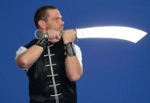 Henkersäbel ist eine seltene Kung Fu Waffe