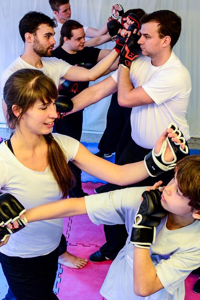 Kampftraining in der Gruppe