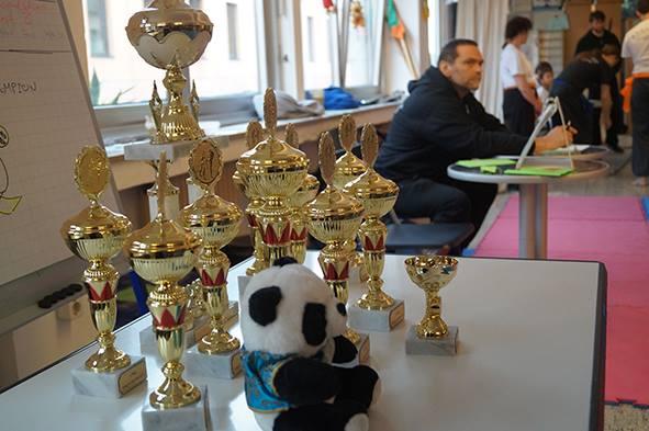 Kung Fu Köln Cup 2017: Pokale und Wertungsrichter