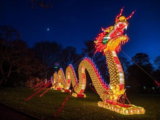 """Bericht über die """"China Light Festival"""" Ausstellung"""