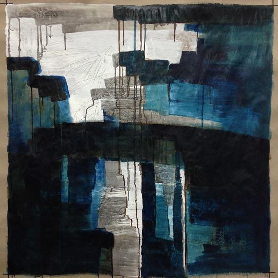 composition 0021, 100x100cm