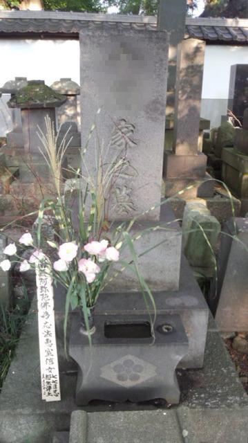 境内にある代々続くお墓です。