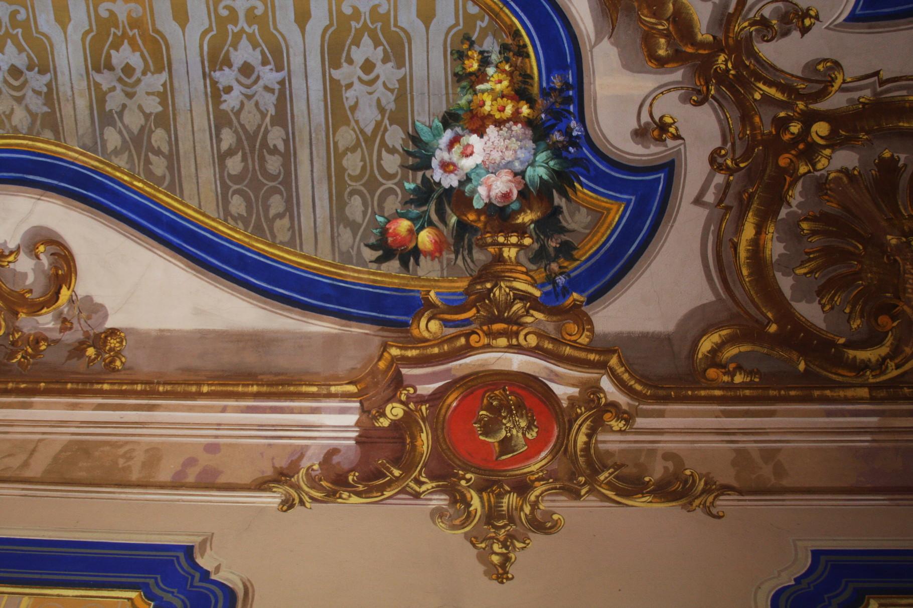 Particolare della decorazione