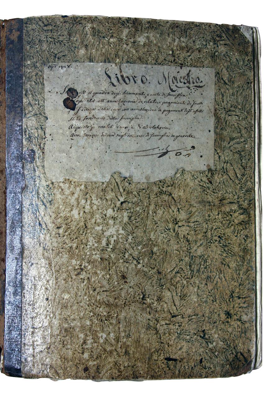 Libro Mastro, copertina