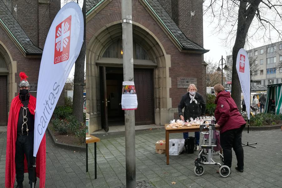 Stutenkerlverkauf in Bottrop dank St. Martin sehr erfolgreich