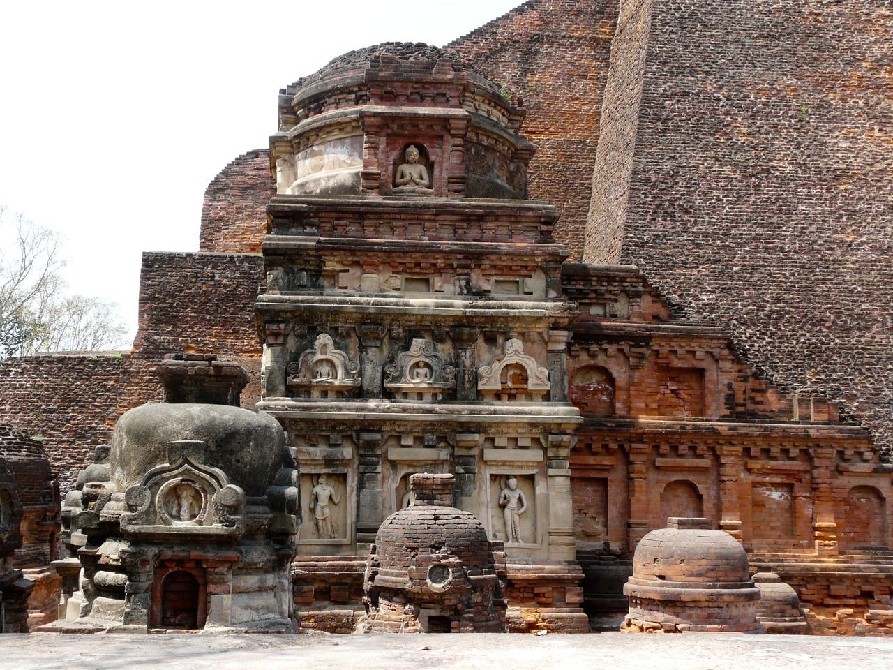 Nalanda, die große Kloster Universität
