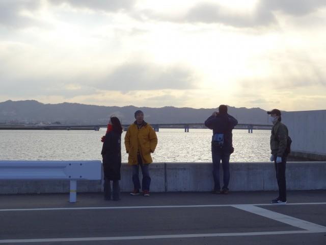 さらに海(外洋)側からは海を見ることができます。