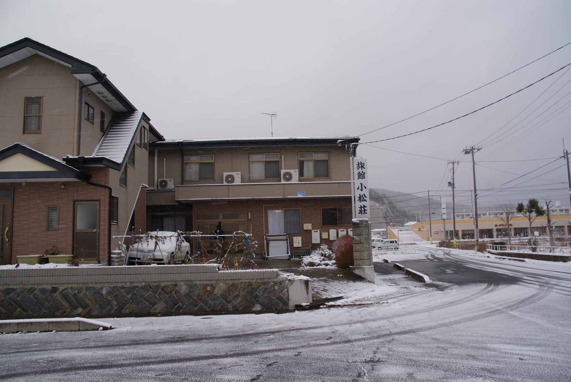 今回お世話になった宿、こちらも2階近くまで被水し、その後直して再開した民宿です