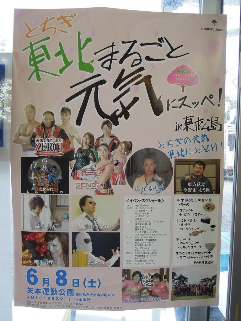 栃木の10団体、今回のイベントチラシ(1万枚用意しました)