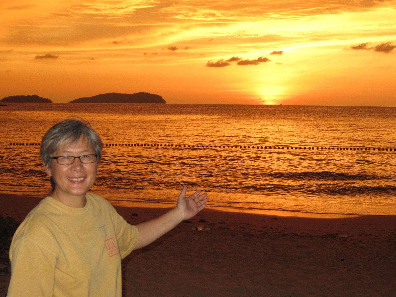 Welcome to Kota Kinabalu sunset