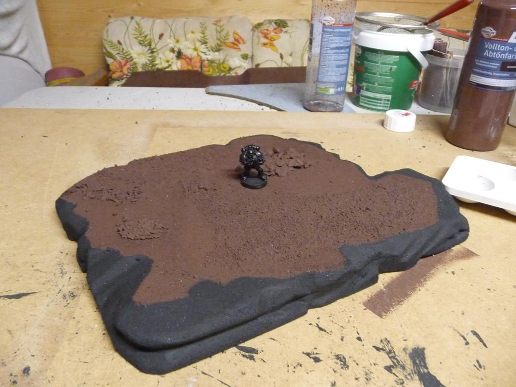 Entstehung Felsenplattform (grundfarben)
