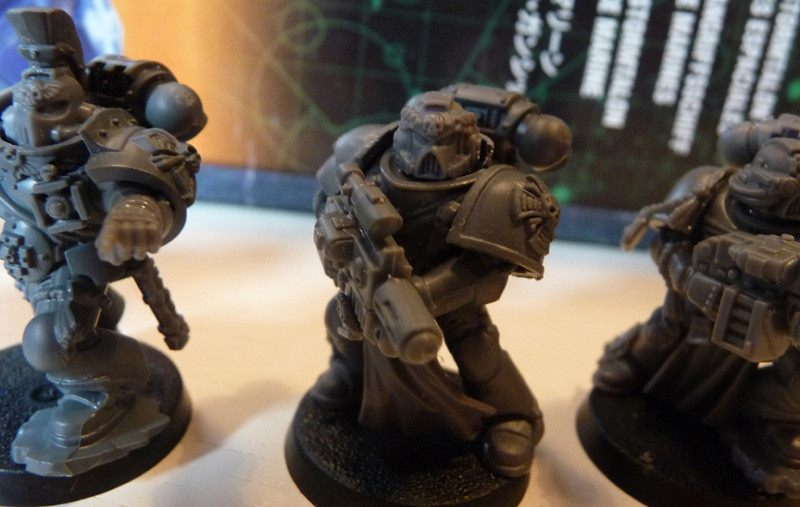Space Marine Protektorgarde mit Kombi-Melter