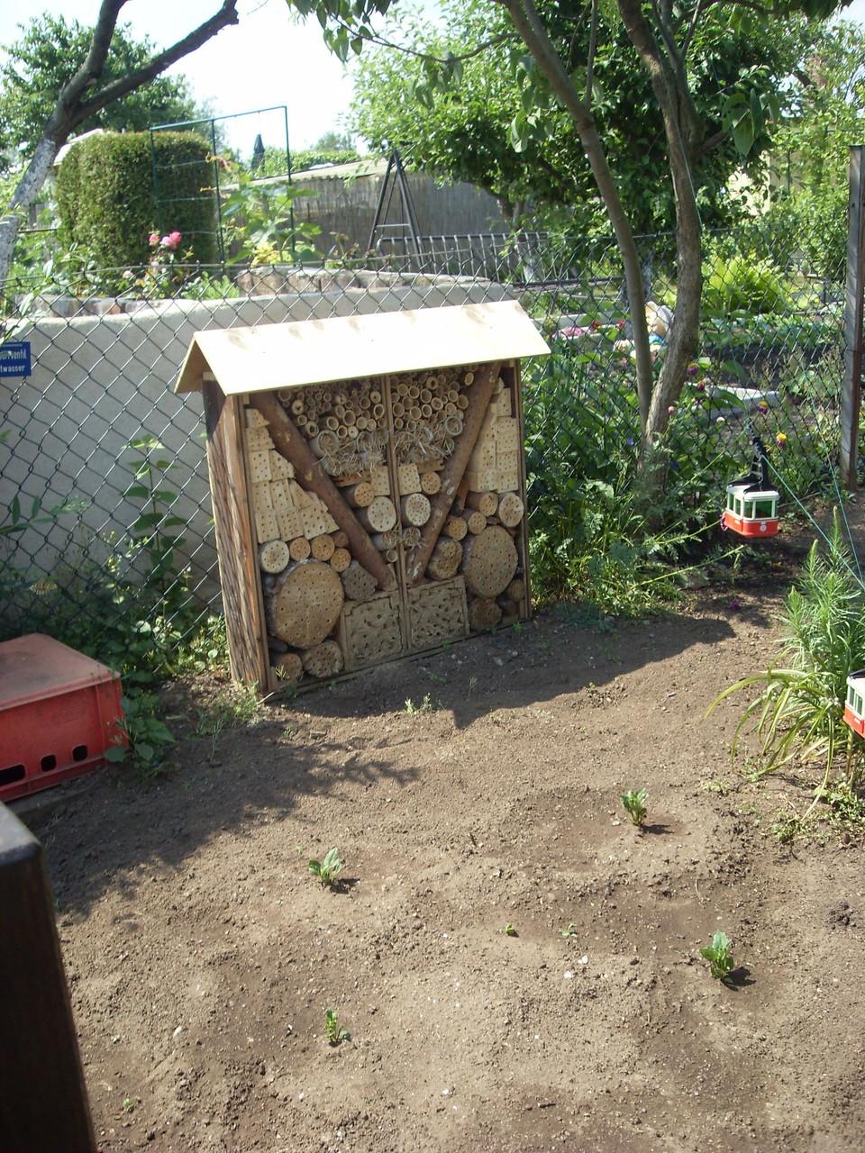 Insektenhotel 2011-4