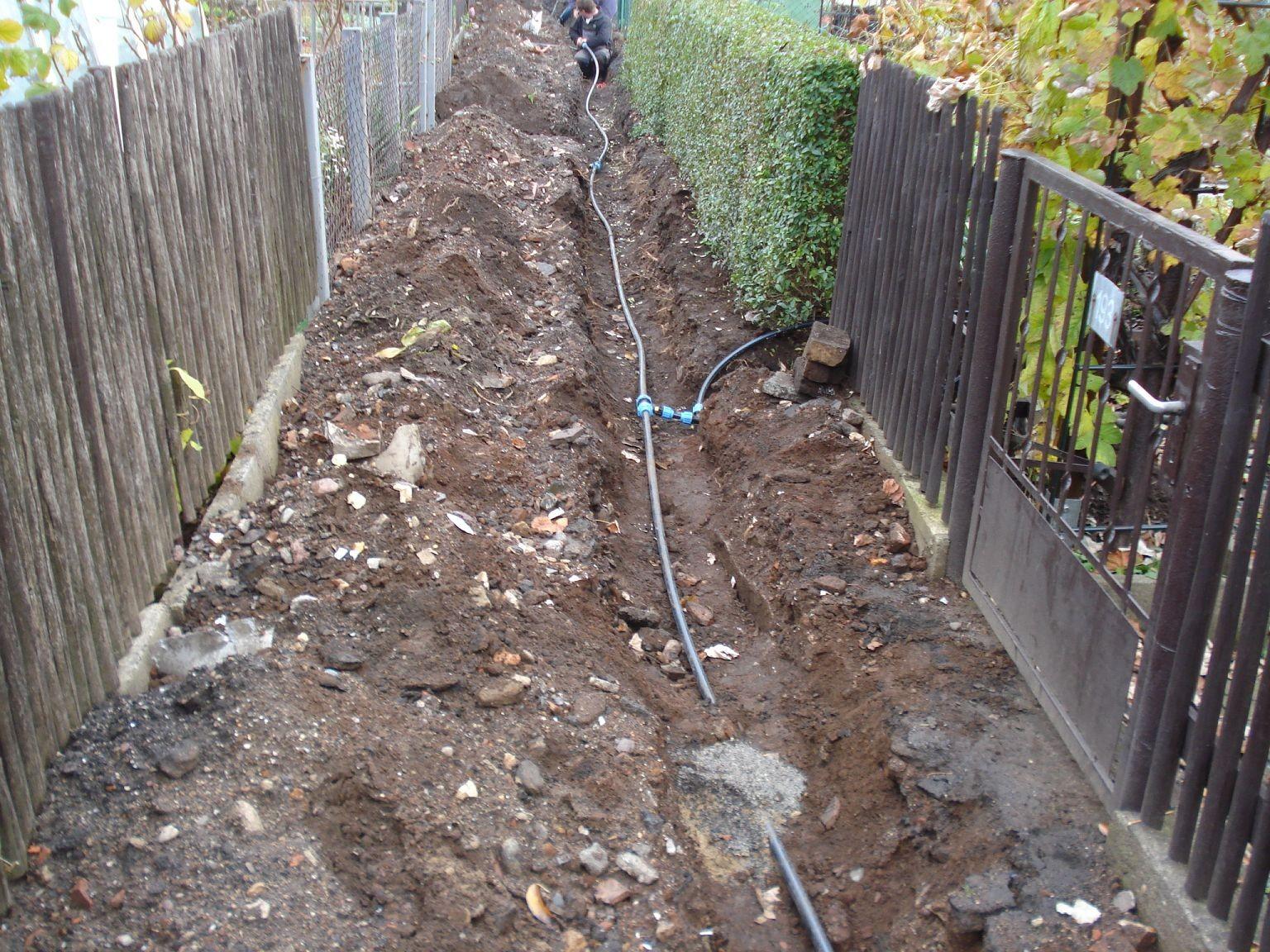 Wasserleitung 2008-3
